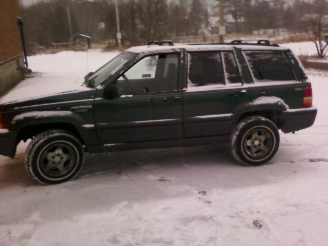 picture of 1995 jeep grand cherokee laredo 4wd exterior. Cars Review. Best American Auto & Cars Review