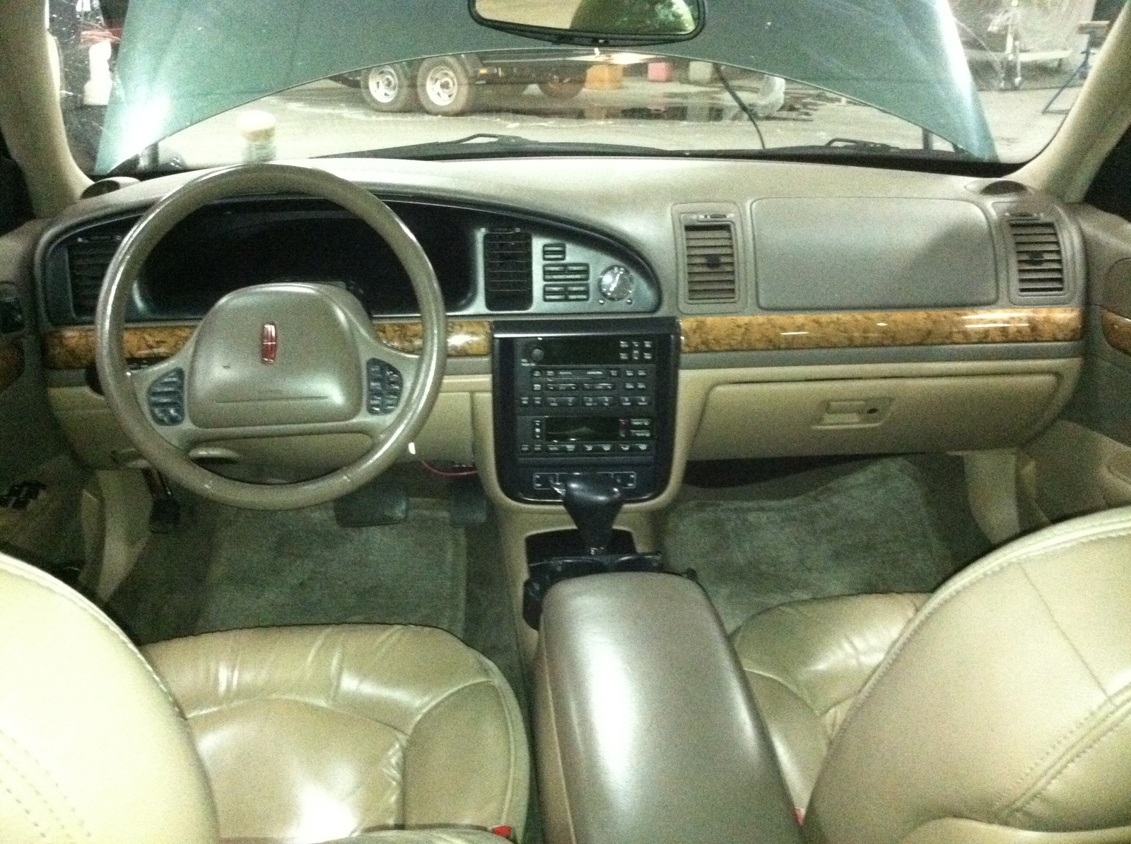 1999 Lincoln Continental Interior Pictures Cargurus