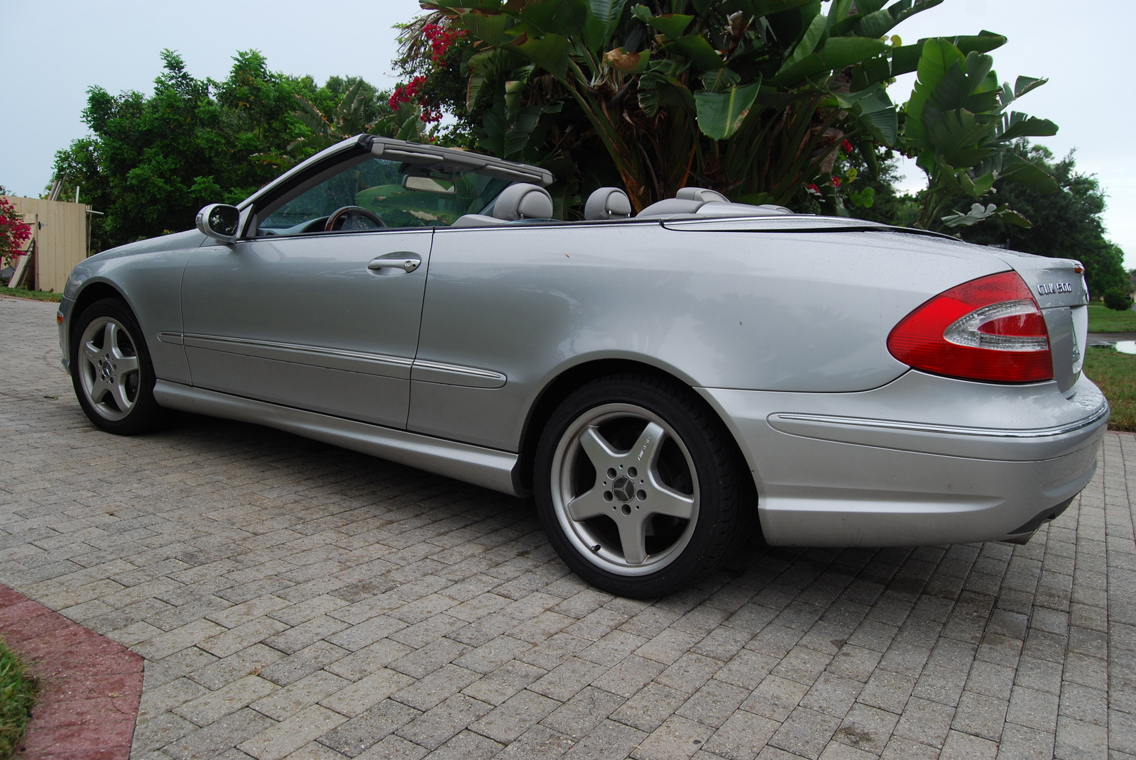 2004 mercedes benz clk 500 convertible for sale
