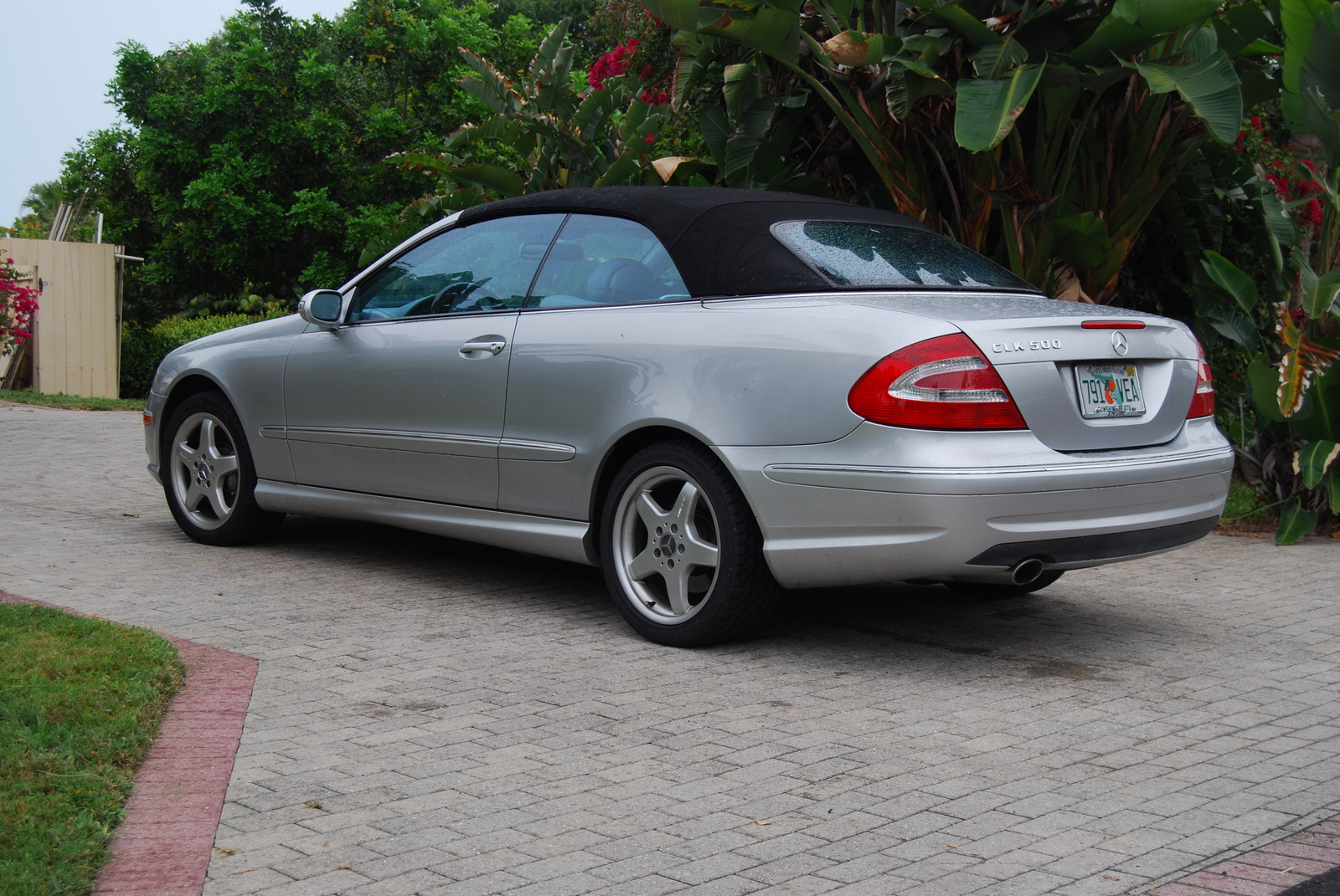 mercedes benz clk 500 convertible price