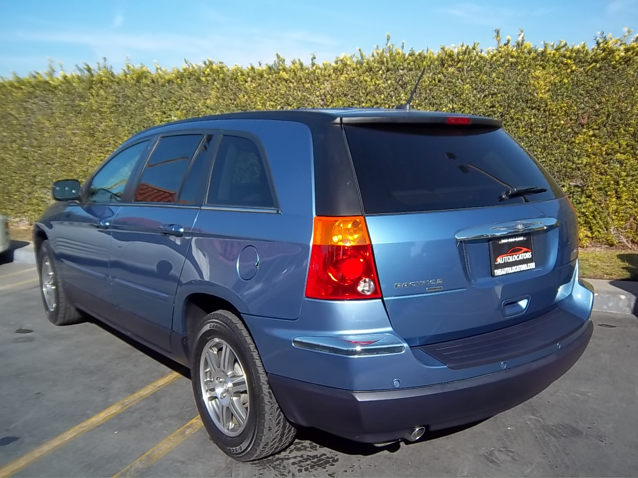 picture of 2007 chrysler pacifica 4 dr touring signature series. Cars Review. Best American Auto & Cars Review