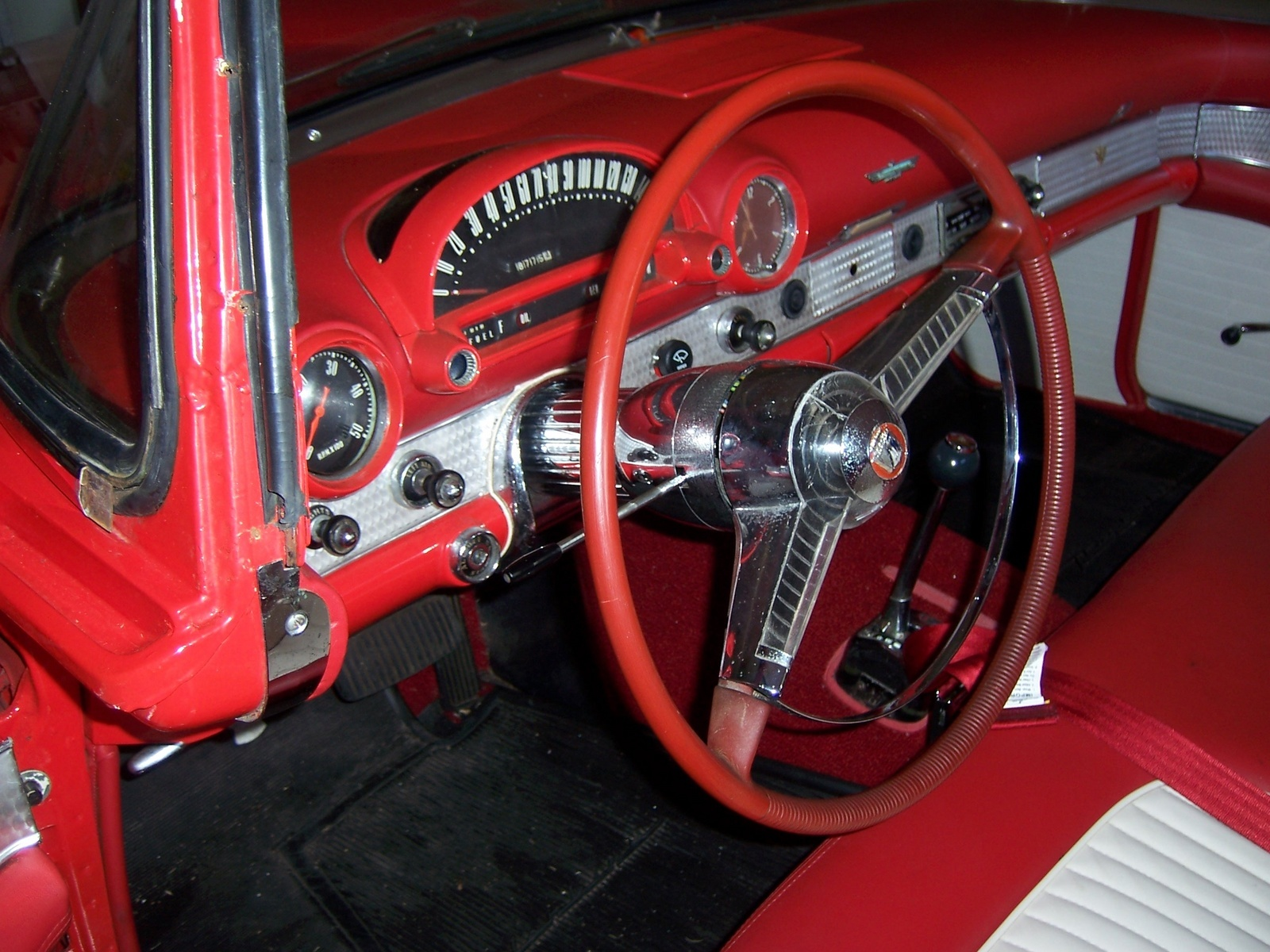 1955 T Bird Steering Wheel Where Can I Find One