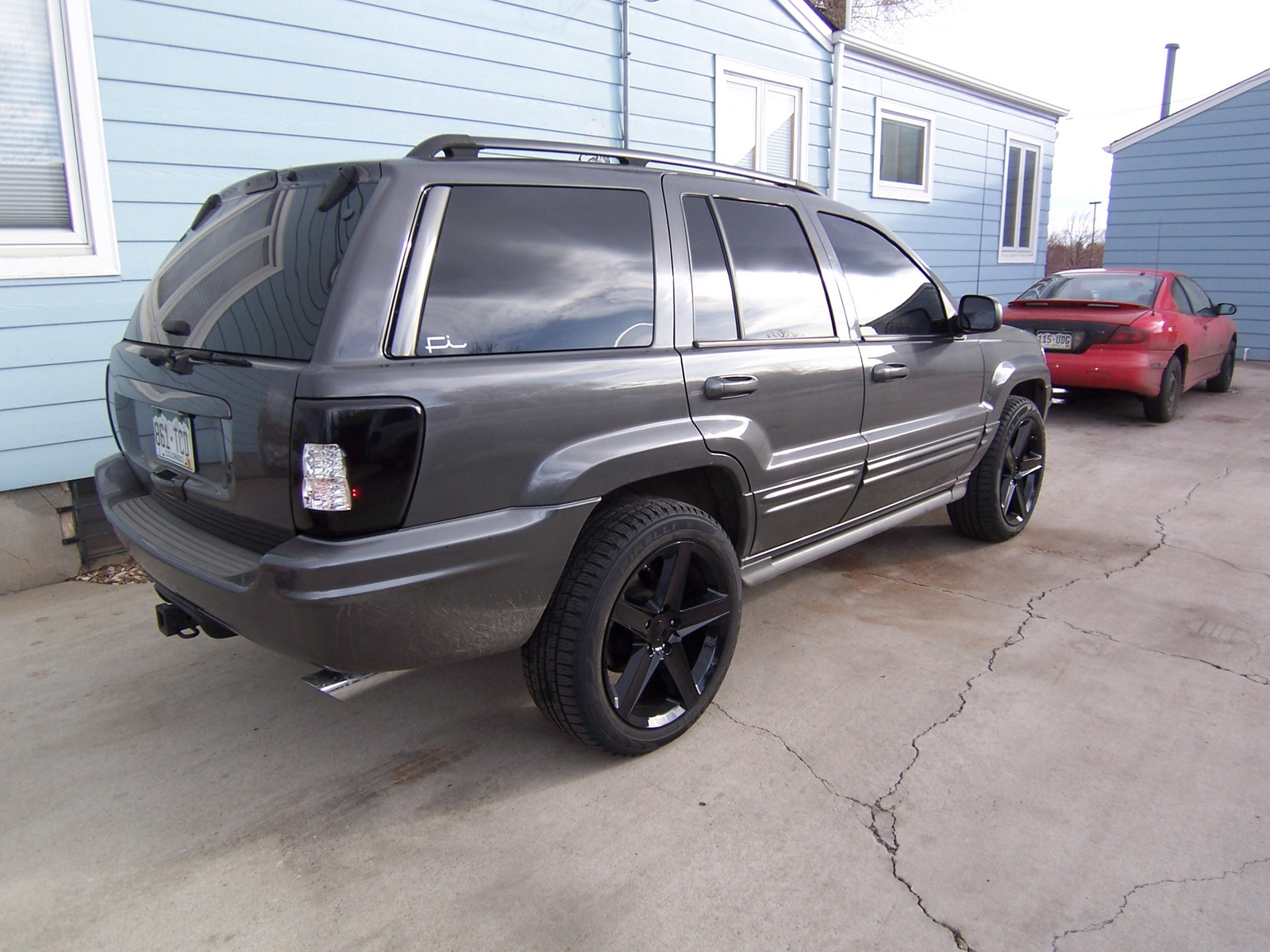 picture of 2002 jeep grand cherokee overland exterior. Cars Review. Best American Auto & Cars Review