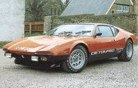 1970 De Tomaso Pantera Overview