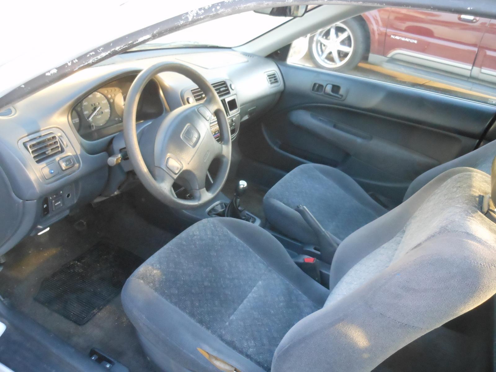 1997 honda civic interior pictures cargurus - 1996 honda civic hatchback interior ...