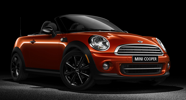 2012 MINI Roadster FWD, Front-quarter view, exterior, manufacturer, gallery_worthy