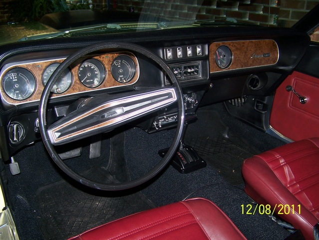 1969 Mercury Cougar Interior Pictures Cargurus