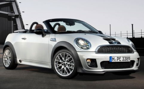 2012 MINI Roadster, Front quarter view. , exterior, manufacturer, gallery_worthy