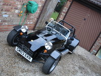 2004 Caterham Seven, how it looks now, exterior