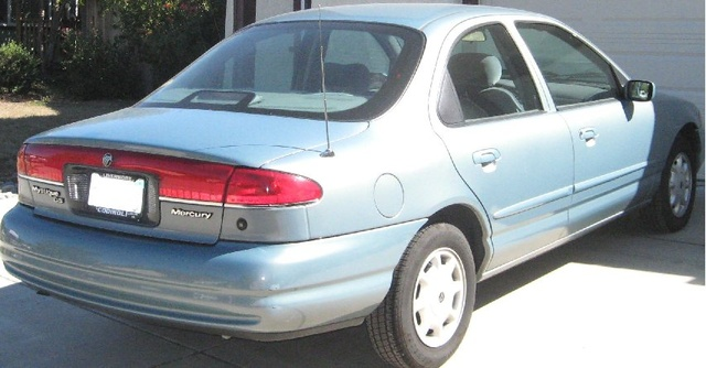 Picture of 1996 Mercury Mystique 4 Dr GS Sedan