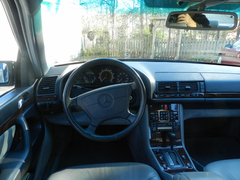 1995 Mercedes Benz S Class Interior Pictures Cargurus