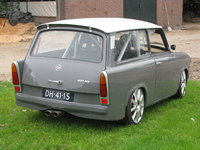 1970 Trabant 601 Overview