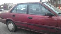 1991 Toyota Corolla DX, 1991 Toyota Corolla 4 Dr Deluxe Sedan picture, exterior