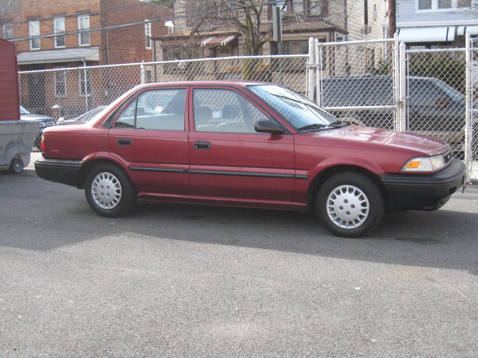 1990 Toyota Corolla - Trim Information - CarGurus