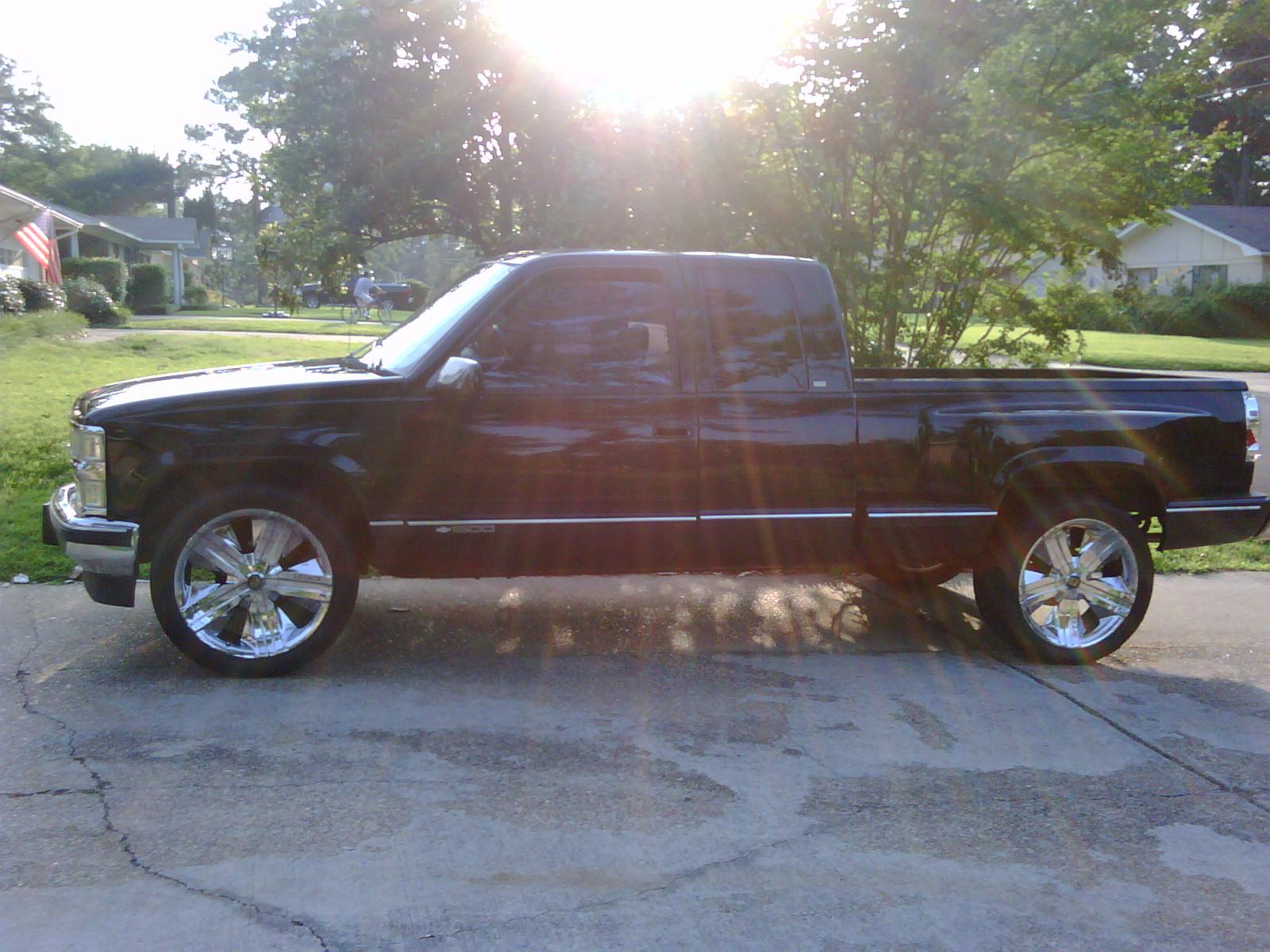 Chevrolet silverado extended