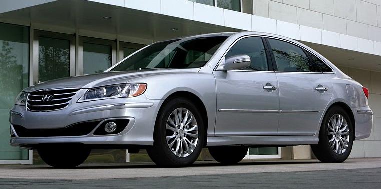 2012 Hyundai Azera, Front quarter view. , exterior, manufacturer
