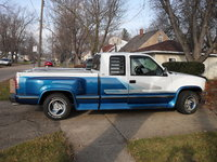 Picture of 1993 GMC Sierra 1500 C1500 SLX Extended Cab Stepside SB, exterior, gallery_worthy