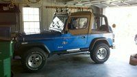 1992 Jeep Wrangler STD, 1992 Jeep Wrangler 2 Dr STD 4WD Convertible picture, exterior
