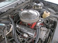 1985 Oldsmobile Cutlass Supreme picture, engine
