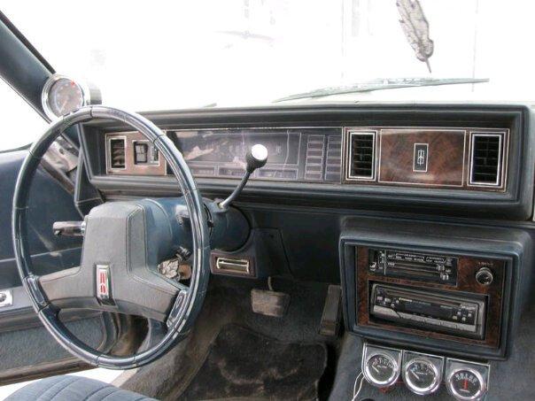 picture of 1985 oldsmobile cutlass supreme interior