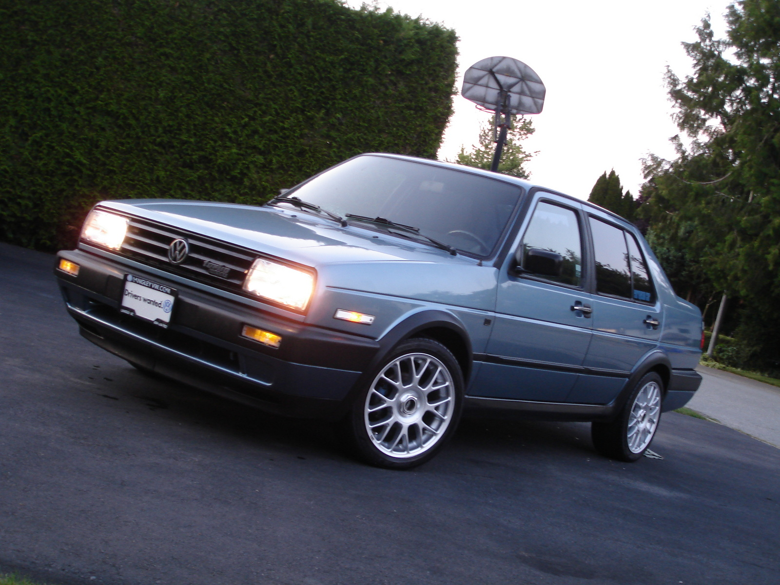 1991 Volkswagen Jetta GL Diesel, 1991 Volkswagen Jetta 4 Dr GL Diesel Sedan picture, exterior