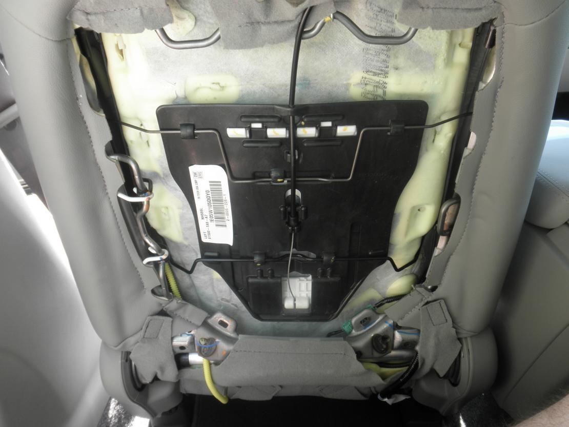 Pic X on Dodge Dakota Lumbar Support