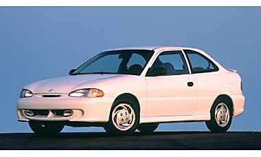 Picture of 1996 Hyundai Accent 2 Dr GT Hatchback