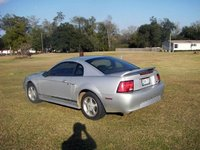 2000 Ford Mustang Coupe, 2000 Ford Mustang: Rear-Driver, exterior, gallery_worthy