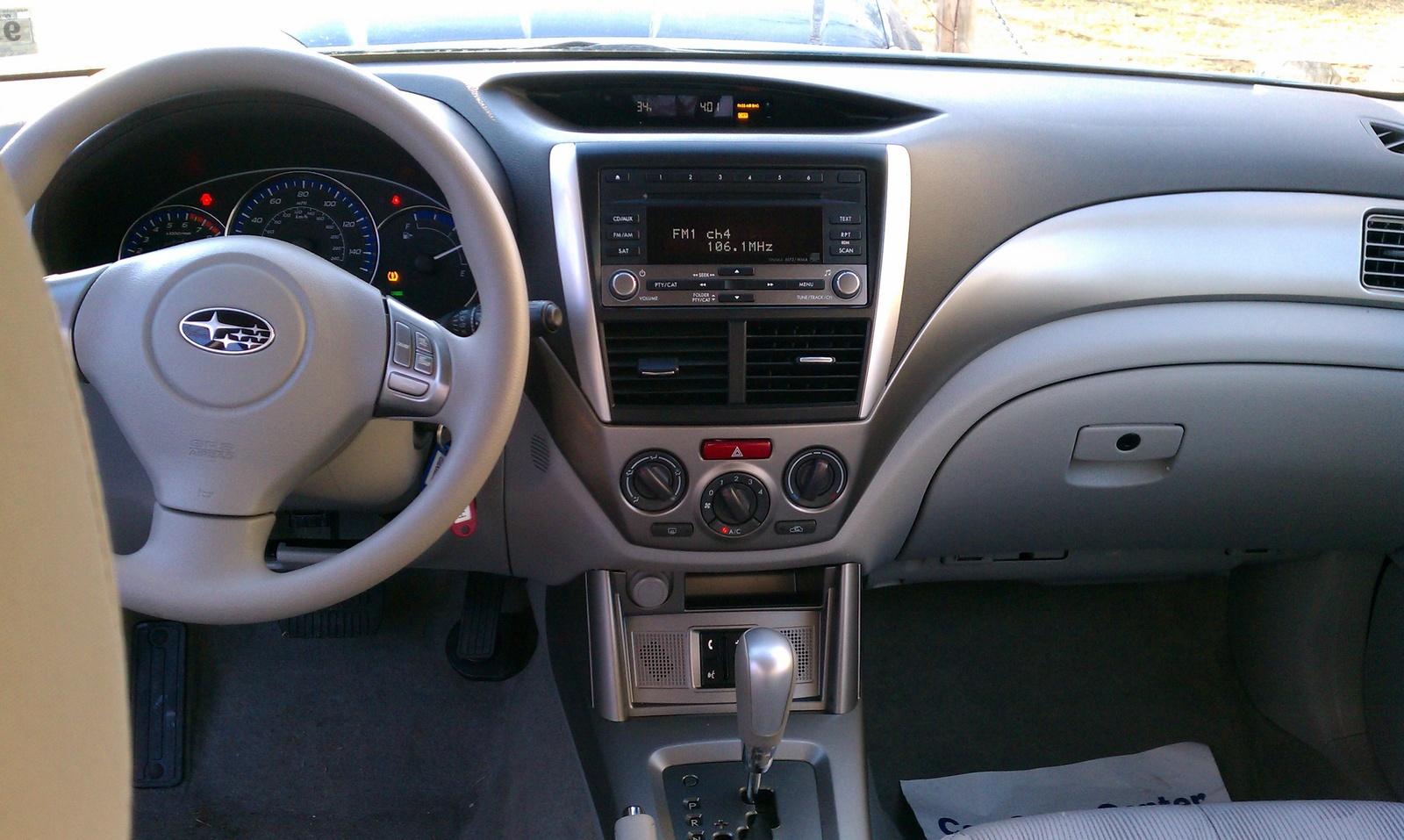 2010 Subaru Forester Interior Pictures Cargurus