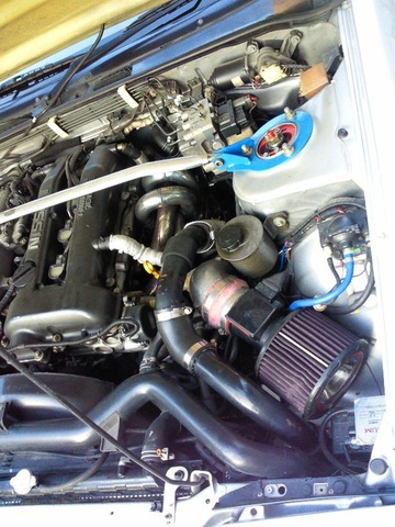 Picture of 1996 Nissan 180SX, engine