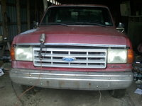 1991 Ford F-250 2 Dr STD Standard Cab LB, A work in progress... , exterior