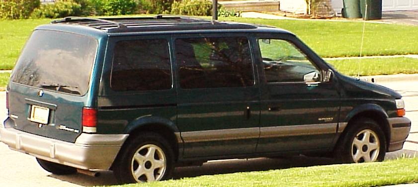 Dodge Caravan Dr Le Passenger Van Pic