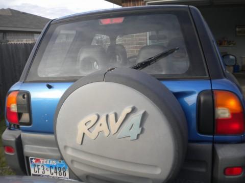 1996 Toyota RAV4 2 Door, Picture of 1996 Toyota RAV4 2 Dr STD SUV, exterior