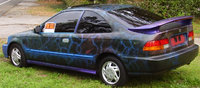 1997 Honda Civic EX Coupe, now, exterior