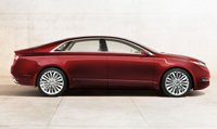 2013 Lincoln MKZ, Side View. , exterior, manufacturer