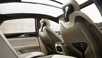2013 Lincoln MKZ, Back seat. , interior, manufacturer