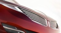 2013 Lincoln MKZ, Close-up of the hood., exterior, manufacturer
