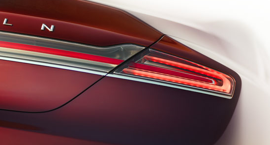 2013 Lincoln MKZ, Tail light. , manufacturer, exterior
