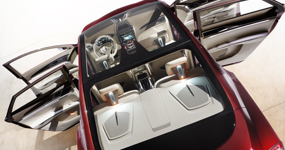 2013 Lincoln MKZ, Front and back seat. , interior, manufacturer