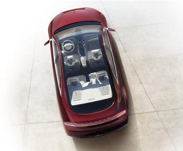 2013 Lincoln MKZ, Aerial View. , exterior, interior, manufacturer