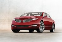 2013 Lincoln MKZ, Front quarter view., exterior, manufacturer, gallery_worthy