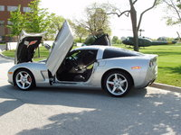 2005 Chevrolet Corvette Coupe, 2005 Chevrolet Corvette Base picture, exterior