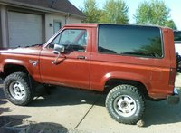 1986 Ford Bronco II, actually 1984 Bronco II 2.8l carb v6 5 speed, exterior