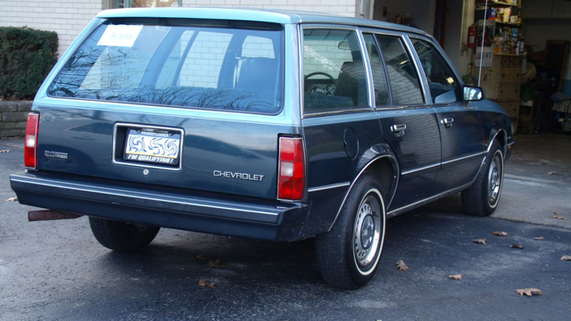1985 Cavalier CS Station Wagon - 39k miles - February 2012 - Pittsburgh, Pa. ~ Ace ~