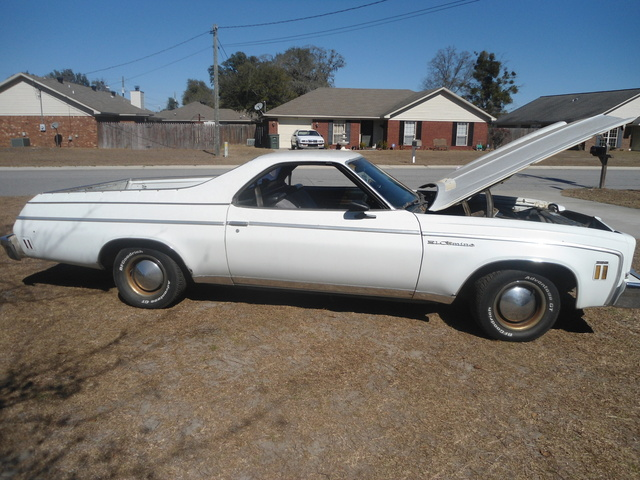 Picture of 1973 Chevrolet El Camino, exterior, engine