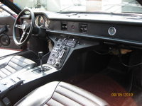 1974 De Tomaso Pantera, 1974 DeTomaso Pantera GTS America, passenger inside, interior