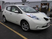 2012 Nissan Leaf SL, Another White SL I drove, exterior
