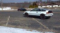 1991 Honda Civic CRX CRX Si, lexi rexy, exterior