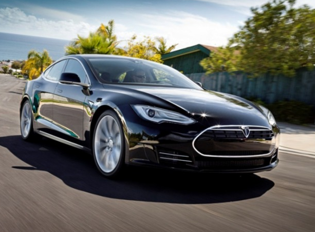 2013 Tesla Model S, Front quarter view. , exterior, manufacturer, gallery_worthy
