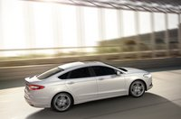 2013 Ford Fusion, Back quarter view., manufacturer, exterior